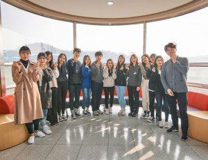 대학생 에디터 단체 사진