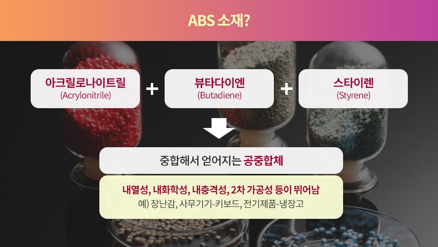 ABS 소재 설명