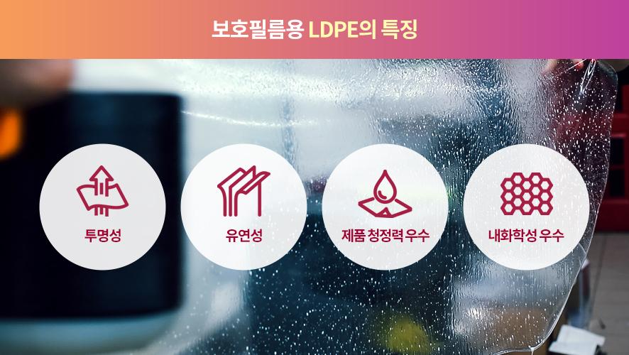 보호필름용 LDPE의 특징