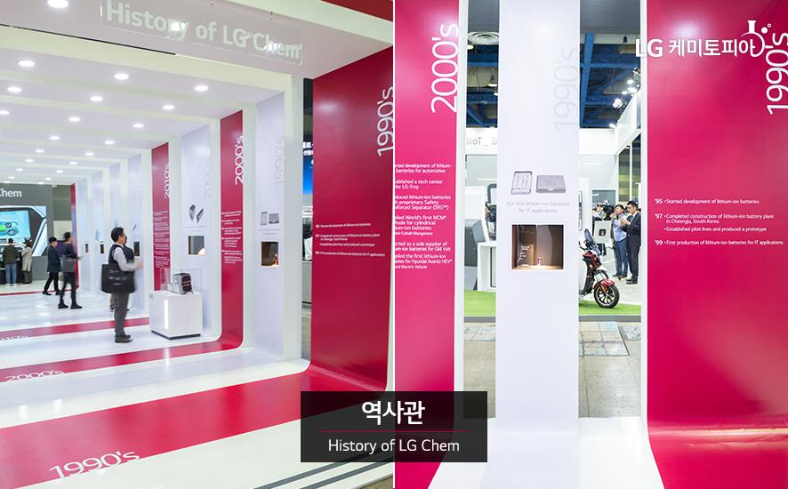 역사관 History of LG Chem