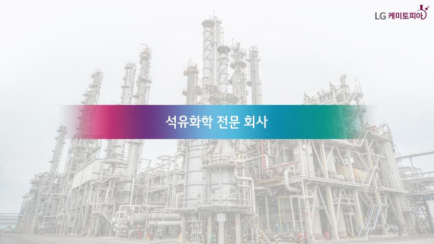 석유화학 전문 회사