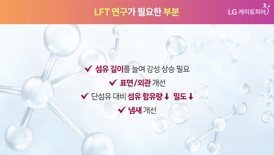 LFT 연구가 필요한 부분