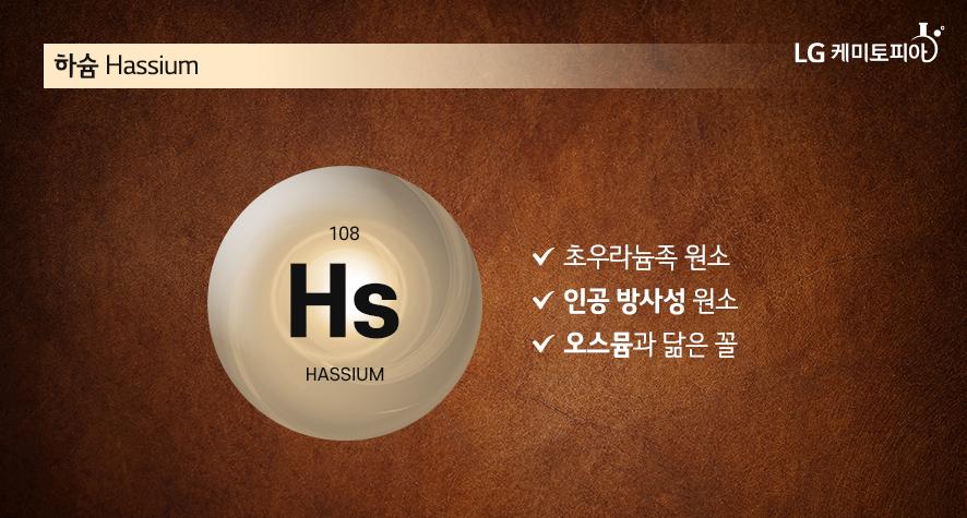 하슘 Hassium